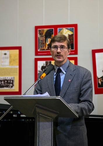 Выступление ответственного секретаря МЦР П.М.Журавихина