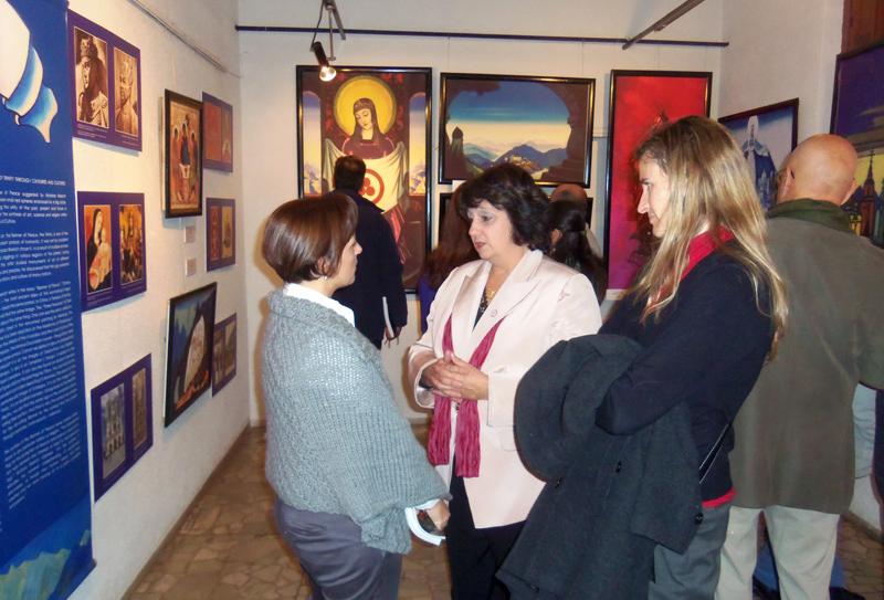 На открытии выставки МЦР в Пайсанду