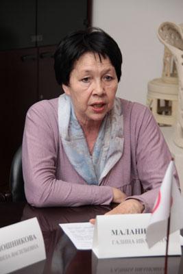 Галина Ивановна Маланичева