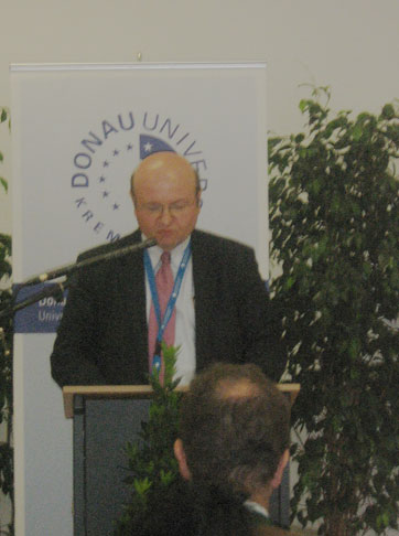 Выступление руководителя отдела по защите культурного наследия ЮНЕСКО Яна Хладика