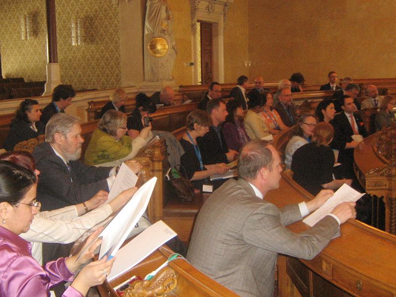 Делегация Международного Центра Рерихов на заседании Генеральной Ассамблеи Ассоциации Национальных Комитетов Голубого Щита в Австрии