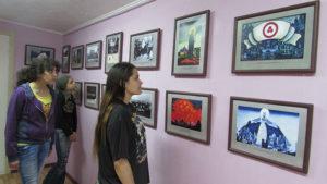 13 июня в Культурно-выставочном центре на Байкале открылась юбилейная выставка «Пакт Рериха и Знамя Мира».