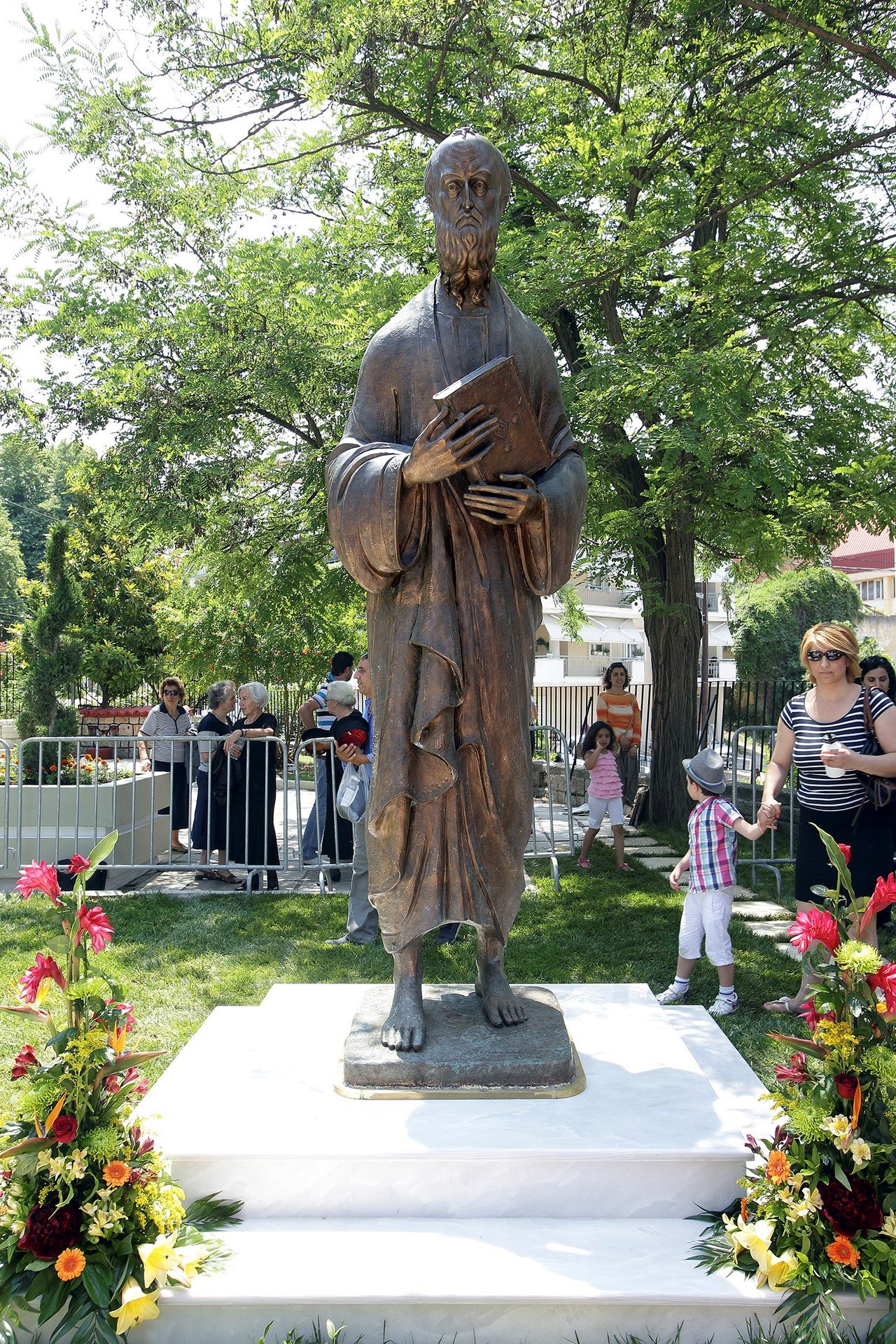 Святой апостол Павел. Бронза. Верия. Греция
