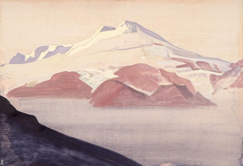 Н.К.Рерих. Эльбрус, Кавказ. 1933