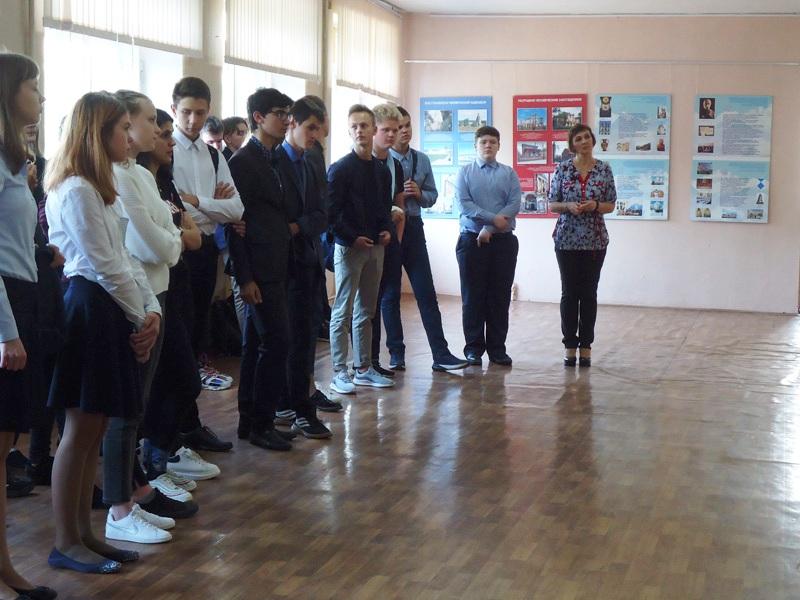 Открытие выставки «Красота есть гимн Беспредельности» в школе № 42 Твери