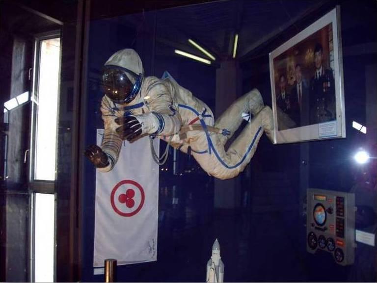 Знамя Мира в экспозиции Центрального Государсвенного музея РК