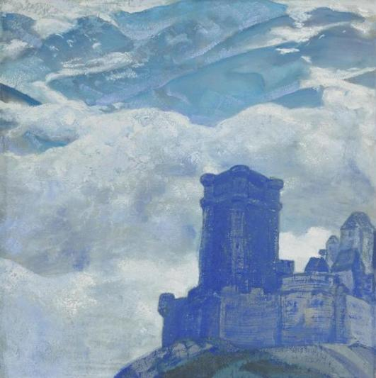 Н.К. Рерих. Замок. 1906 г.