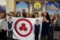 Выставка «Пакт Рериха. История и современность» в поселке Брагине (Республика Беларусь)