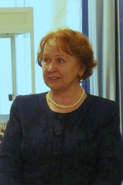 Елена Владимировна Воронянская, директор Краснокамской картинной галереи имени И.И. Морозова