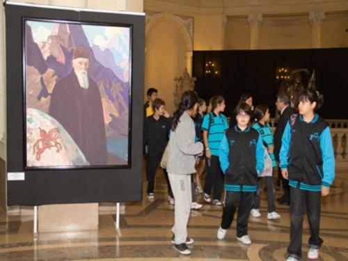 Школьная экскурсия на выставке
