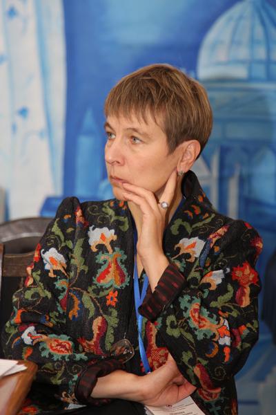 Член Президиума Международного комитета музеев и коллекций изобразительных искусств (IGFA) ИКОМ Г.Б. Андреева