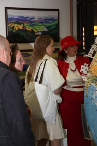 На выставке, посвященной Пакту Рериха