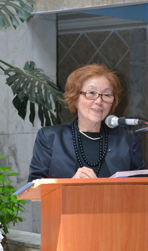 Джиргал Аджикеевна Кутманалиева