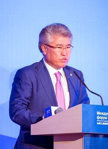Министр культуры и спорта Республики Казахстан Арыстанбек Мухамедийлы