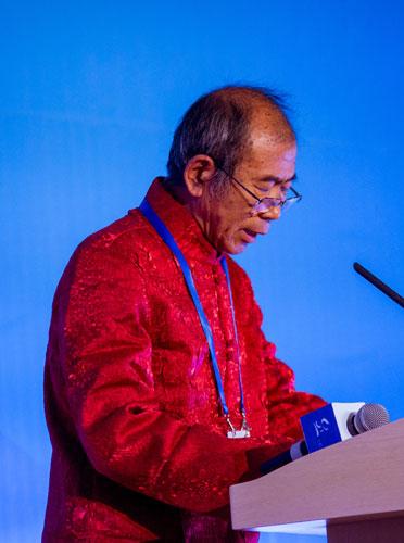Председатель Фонда китайского шелкового пути Цзинь Юншэн