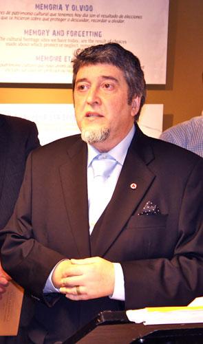 Леонардо Оласабаль, Президент Баскского Музея Знамени Мира имени Н. Рериха