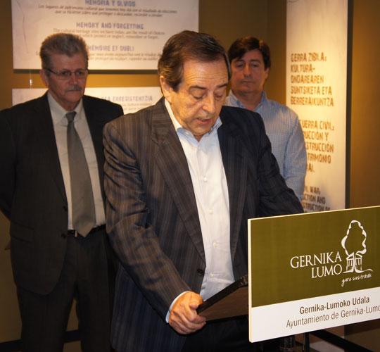 Мэр города Герника  Хосе Мария Горроньо