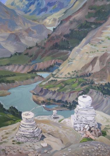 Картины Натальи Зайцевой-Борисовой