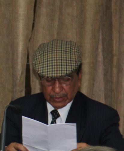 Пожизненный попечитель Международного Мемориального Треста Рерихов Шакти Сингх Чандел