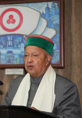 Главный министр штата Химачал Прадеш г-н Вирбхадра Сингх