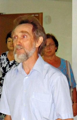 Председатель Азовского рериховского общества «Зов» Василий Васильевич Зарецкий