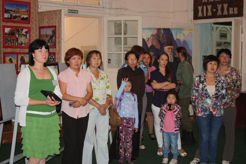 Открытие выставки «Пакт Рериха. История и современность»  в Кяхте