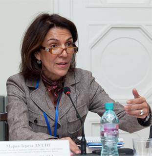 Региональный советник по правовым вопросам в странах восточной Европы и центральной Азии Международного Комитета Красного Креста Мария Тереза Дутли