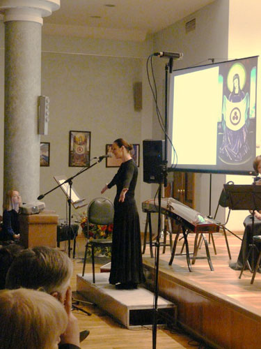 Выступление ансамбля солистов «Классика-Авангард»