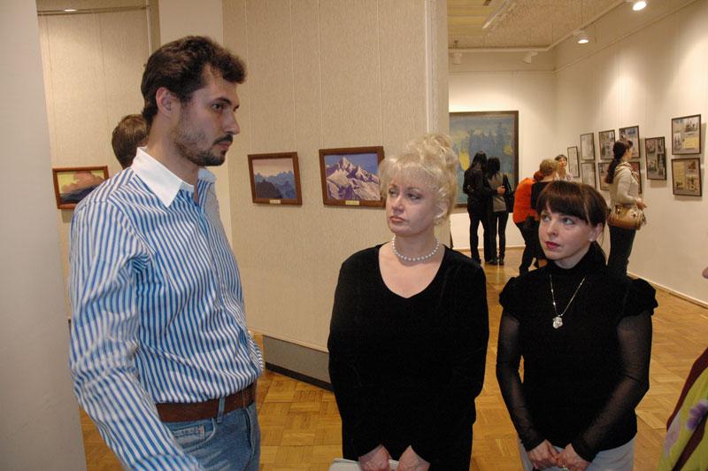 Экскурсия по выставке картин Н.К. Рериха в Мурманском областном художественном музее