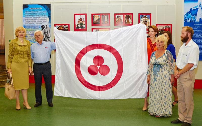 Знамя Мира вручено  нижегородцам