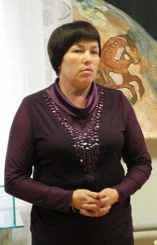 Директор Очерского краеведческого музея Т.Н. Берендяева