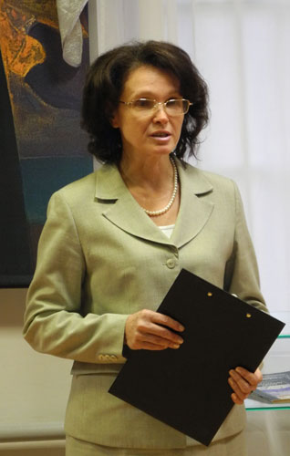 Председатель Пермского регионального отделения Международной Лиги защиты культуры О.Н. Калинкина