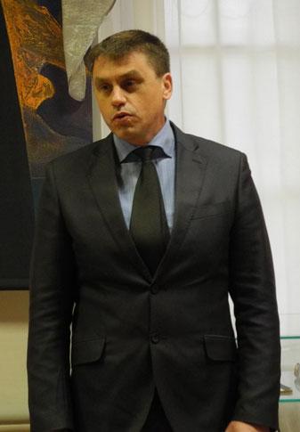 Глава города Очера А.Ю. Лабутин