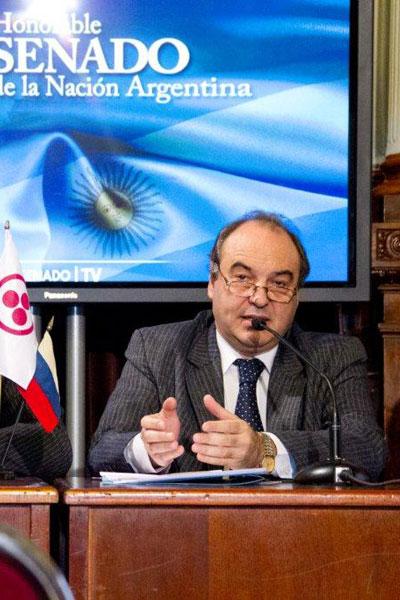 Национальный Сенатор Аргентины Самуэль Кабанчик