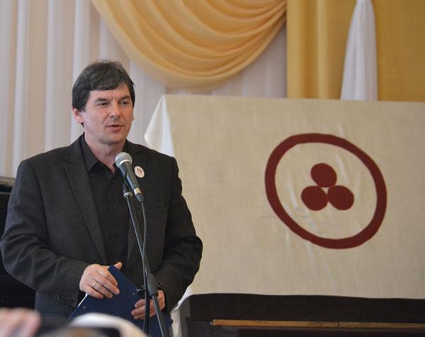 Директор музея И.А. Коротков