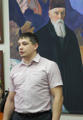 Выступление М.В.Михалева, председателя Земского собрания Кизеловского района