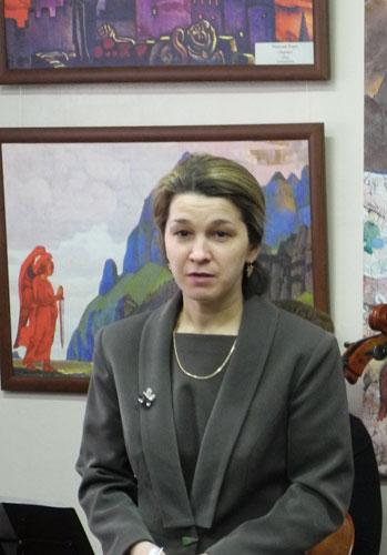 Выступление В.Н.Шадриной, директора краеведческого музея