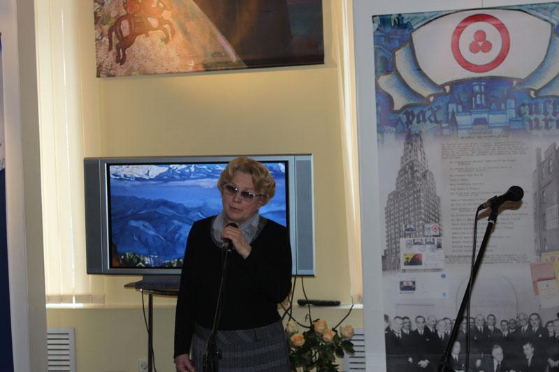 Заместитель директора Национального исторического музея Н.В. Колымаго