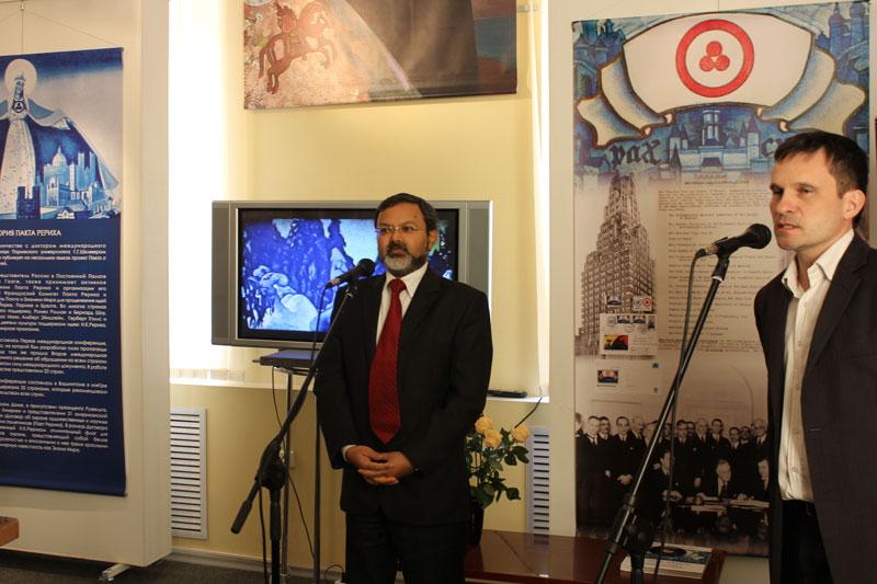 Чрезвычайный и Полномочный Посол Республики Индия в Республике Беларусь господин Манодж Кумар Бхарти