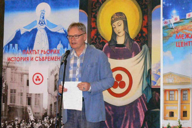 Профессор А. Федотов, директор Центра восточных языков и культур Софийского университета