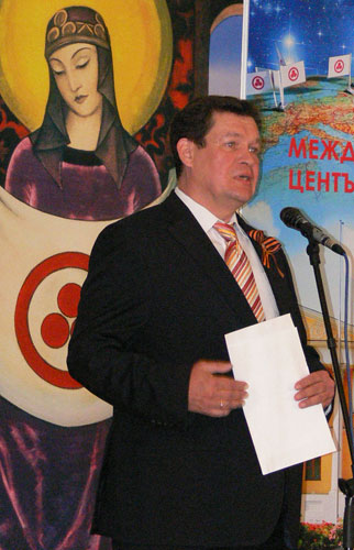 Р.Р. Шестаков, первый секретарь в Посольстве РФ в Болгарии, представитель Министерства образования и науки РФ