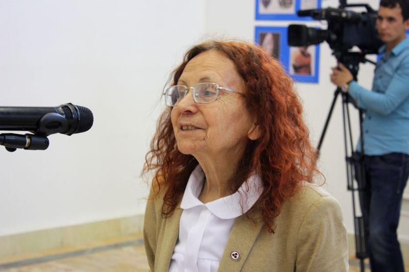 Председатель Ташкентского Общества Рерихов Наджия Монасыпова