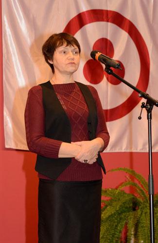 Председатель Ульяновского регионального отделения ВООПИиК  О. А. Свешникова