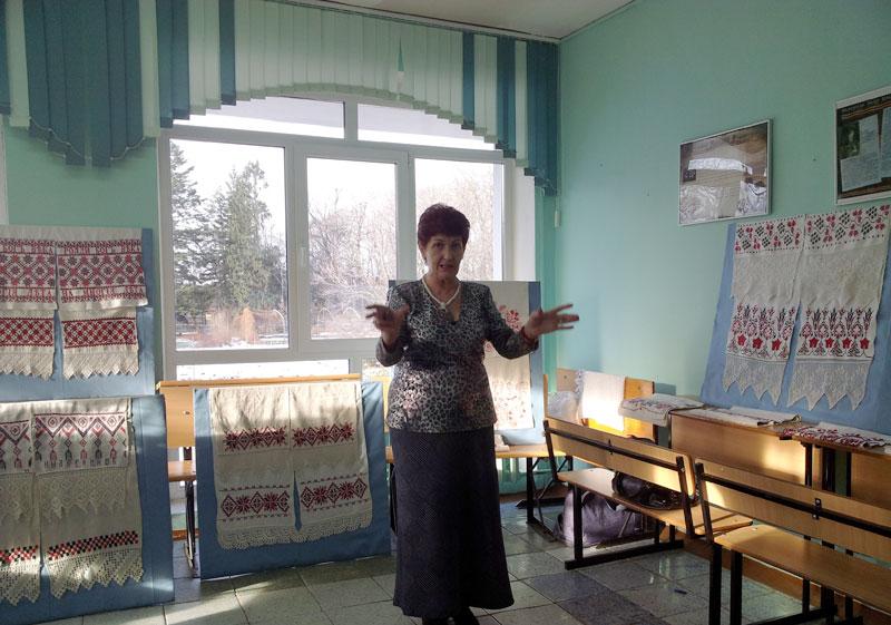На выставке «Льняная душа России»