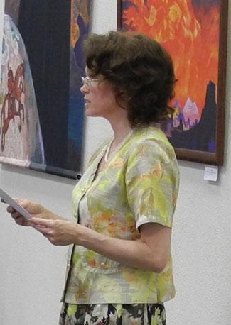 Председатель Пермского регионального отделения Международной Лиги защиты культуры О.Н.Калинкина