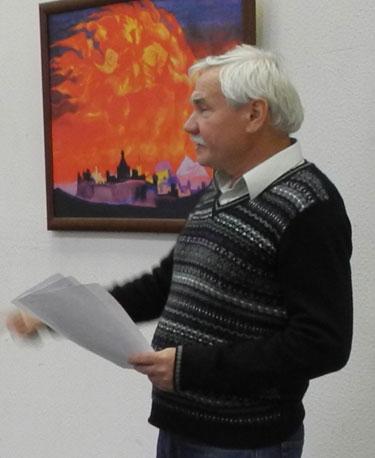 Председатель Пермского краевого отделения ВООПИиК Л.В. Перескоков