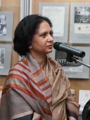 Генеральный Консул Индии в Санкт-Петербурге г-жа Радхика Локеш