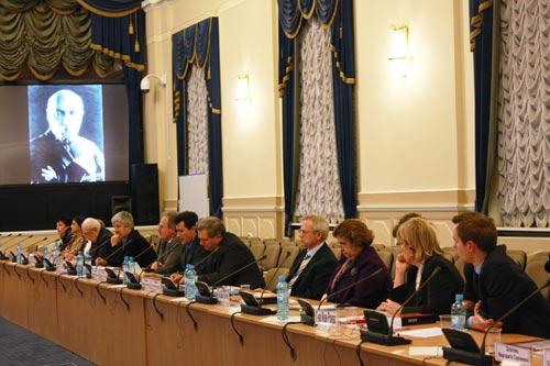 Работа круглого стола «Пакт Рериха в ретроспективе вопроса защиты «сокровищ культуры»