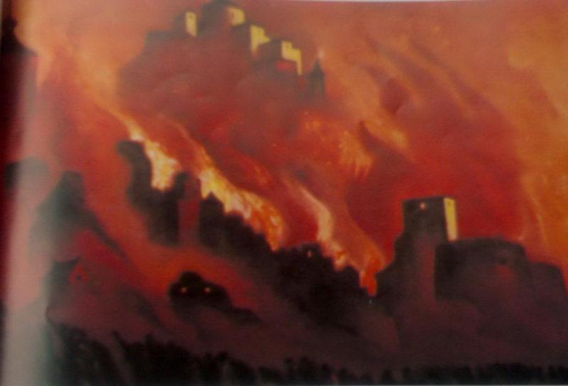 Картина Н.К.Рериха «Армагеддон». 1940