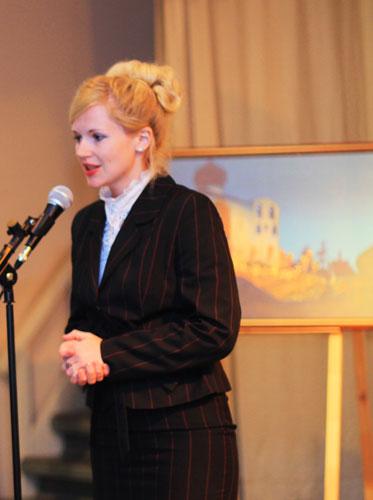Представитель Департамента культуры и туризма Вологодской области Натальия Кожевникова